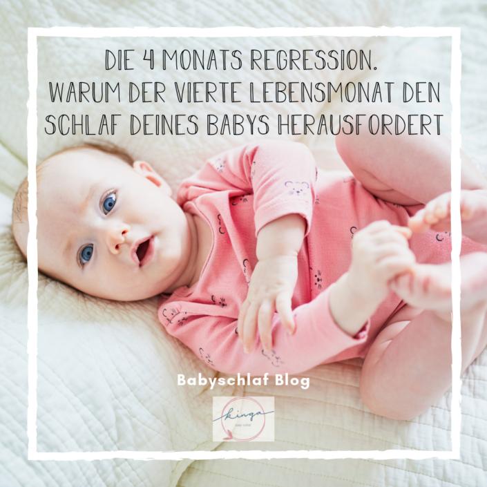 Die 4 Monats Regression bei einem Baby
