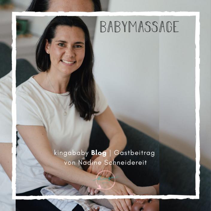Nadine Schneidereit Babymassage